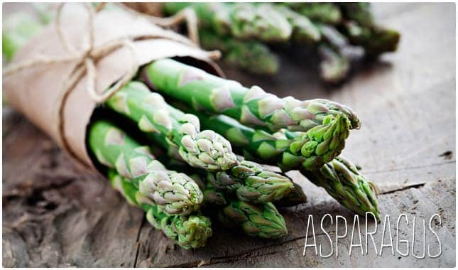 asparagus is high in fiber