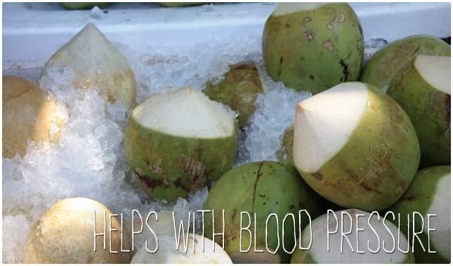 coconut water blood pressure