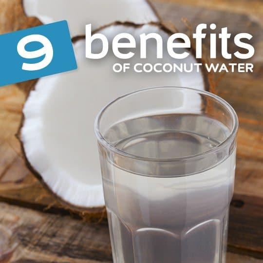 9 Amazing Health Benefits of Coconut Water
