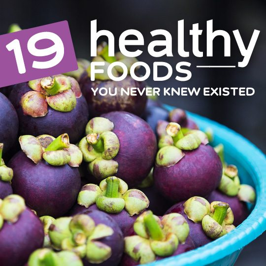 19 Super Healthy Foods You Never Knew Existed