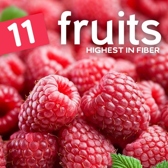 Top 11 Fruits Highest in Fiber