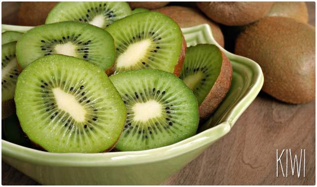 kiwi fiber content