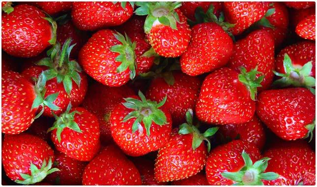 strawberries for sleep