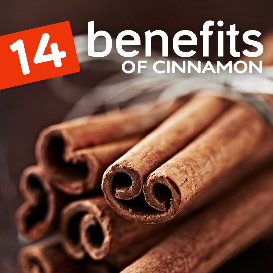 Here are some really good reasons to start including more cinnamon in your diet…