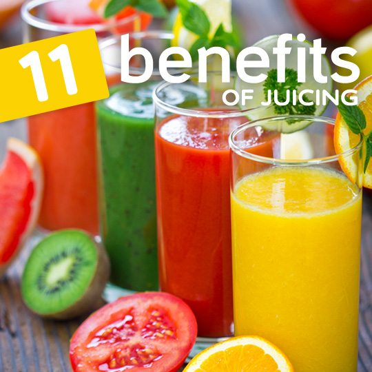 This is why juicing is so beneficial for better health…