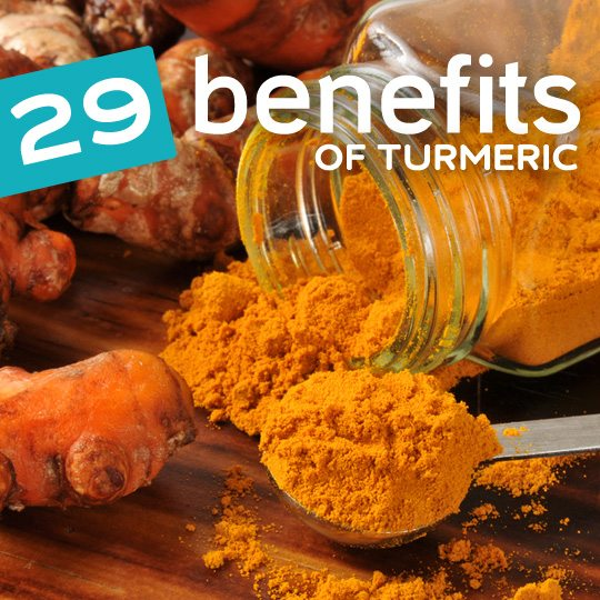 Turmeric does amazing things for your body. It helps prevent cancer, soothes an upset stomach, keeps your heart healthy, burns fat naturally and much more…