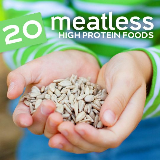 20 Meatless High Protein Foods Vegetarian Protein Sources