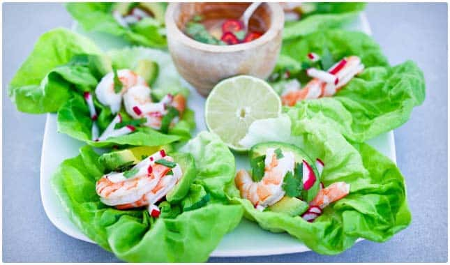 avocado lettuce wraps