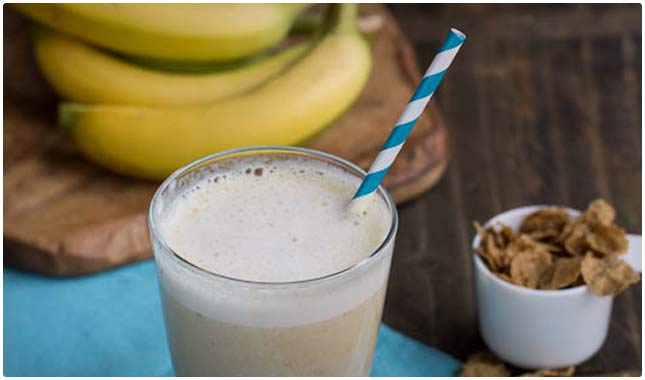 banana bread protein shake recipe
