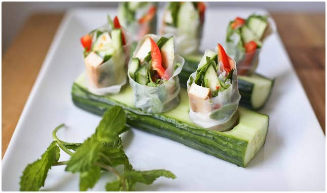 healthy tofu roll recipe