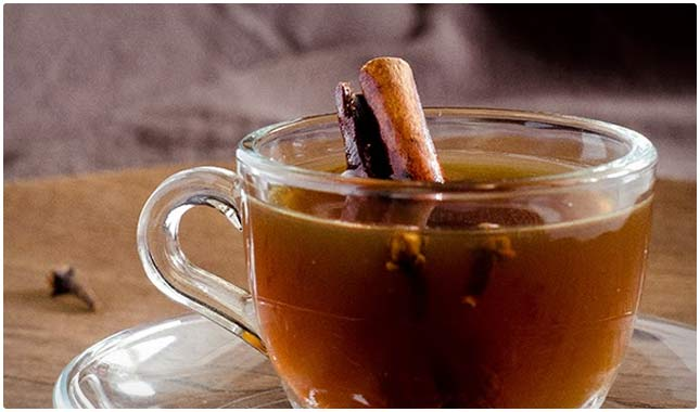 lemon and cinnamon tea