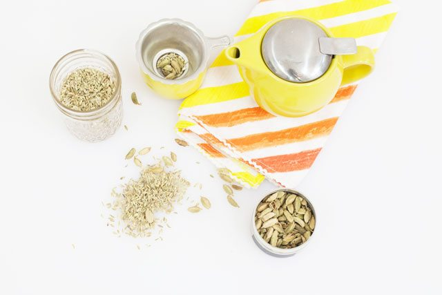 fennel cardamom tea