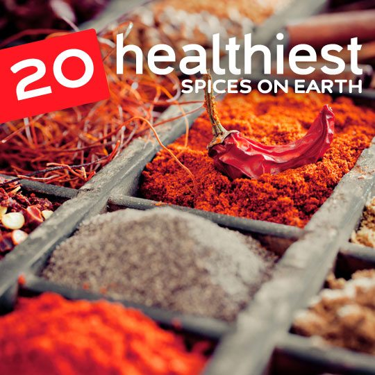 These amazing spices can help everything from reducing inflammation, preventing cancer and lowering your blood pressure…
