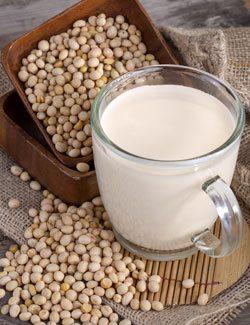Soy Milk is High in Estrogen
