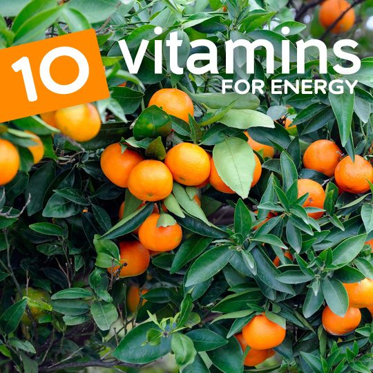 Include more of these vitamin rich foods in your diet for energy that lasts all day…