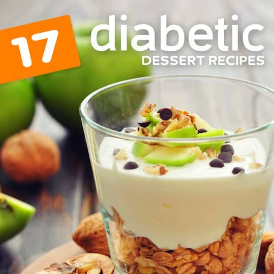 17 diabetic dessert recipes