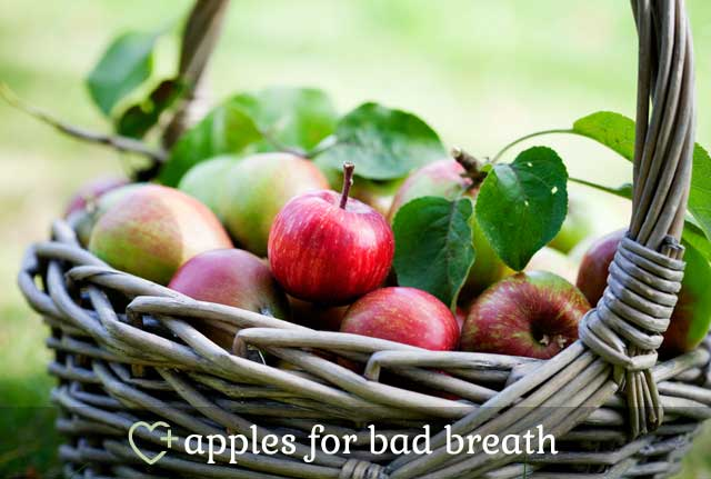 Apples for Bad Breath