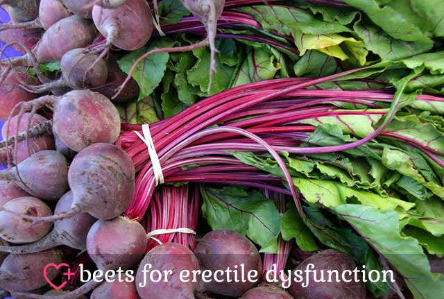Beets for Erectile Dysfunction