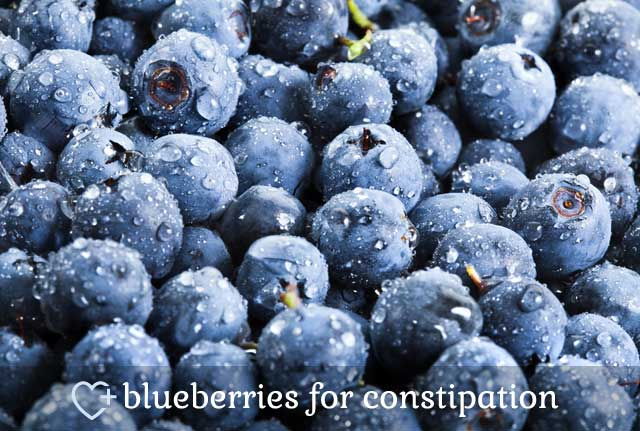 Blueberries for Constipation