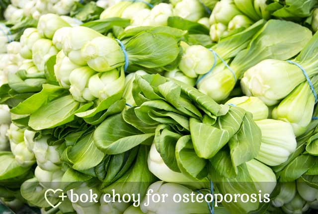 Bok Choy for Osteoporosis