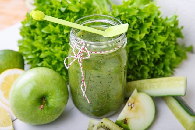 Detoxifying Green Smoothie