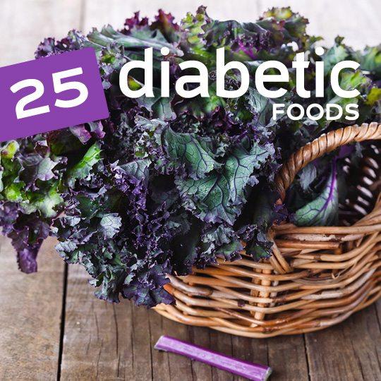 The healthiest foods for diabetics…