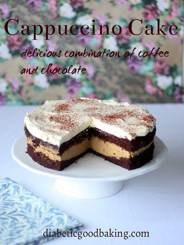 Diabetic-Friendly Capucchino Cake