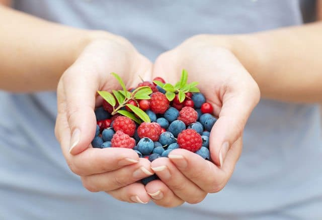 Eat Berries When You Need Energy