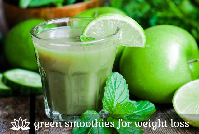 Green Smoothies- for weight loss.