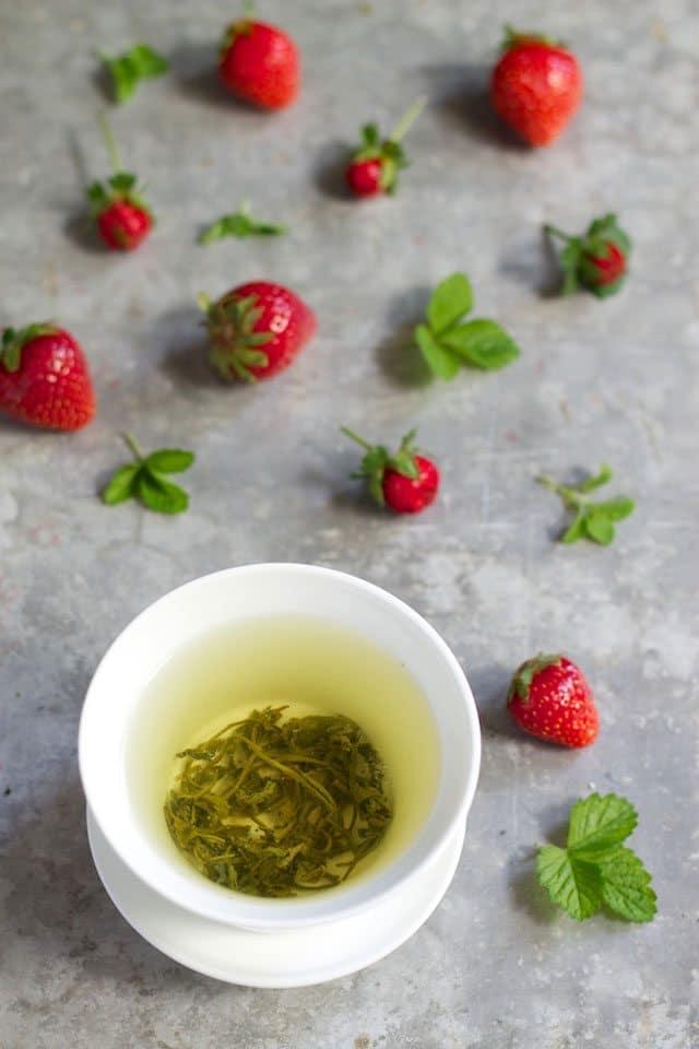 green tea smoothie ingredients