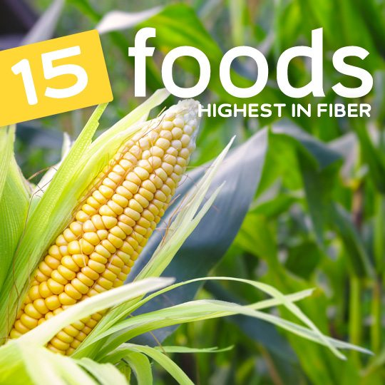 Eat more of these high fiber foods to keep you regular…