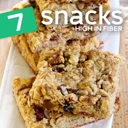 These are my 7 favorite homemade snacks that are high in fiber and keep me regular…
