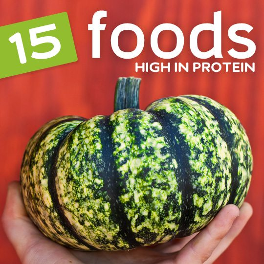 Eat more of these high protein foods for increased energy and muscle building…