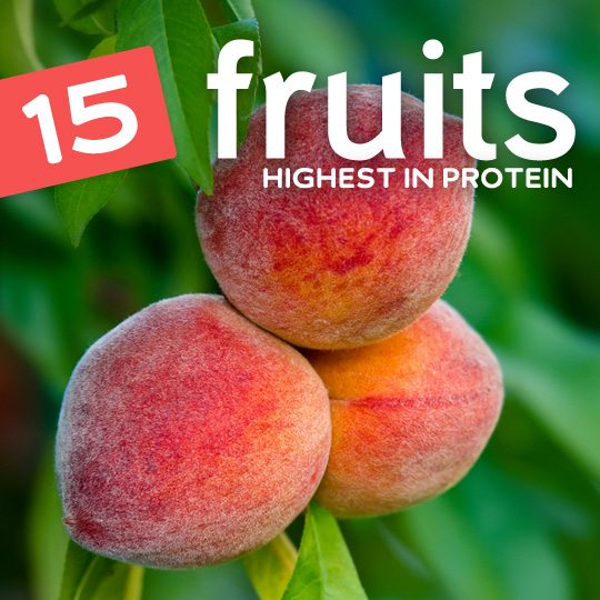 ou would be surprised at just how much protein some fruits have…