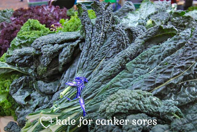 Kale for Canker Sores
