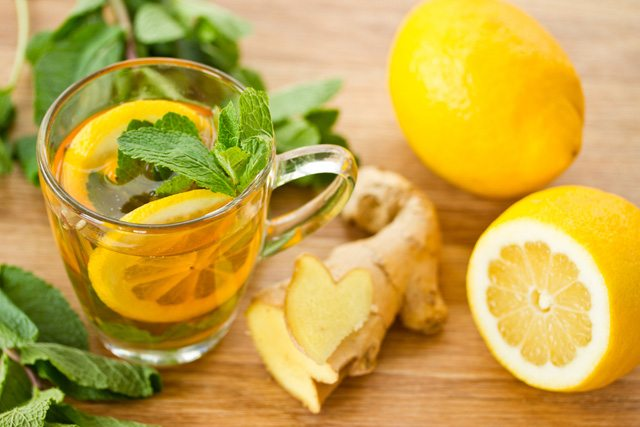 Lemon Detox Tea- for anti-aging.