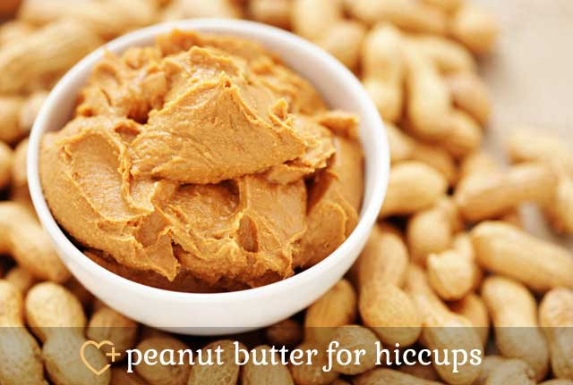 Peanut Butter for Hiccups