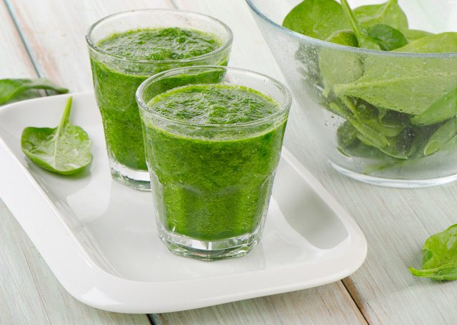 Spinach and Ginger Detox Smoothie