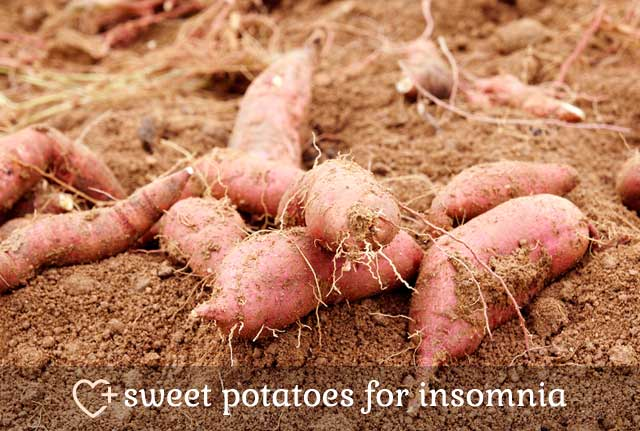 Sweet Potatoes for Insomnia