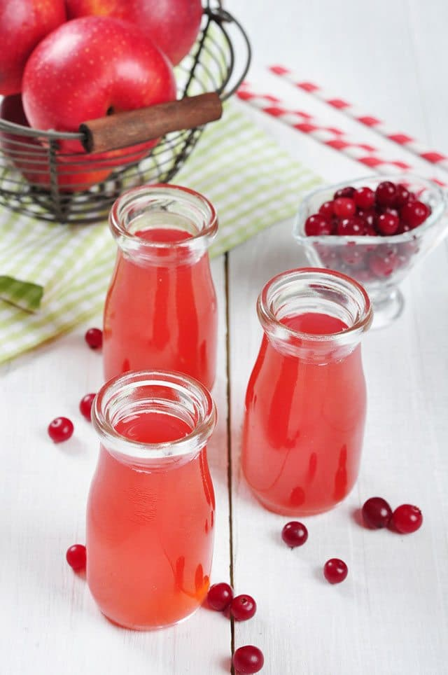 Cranberry Apple Detox Drink