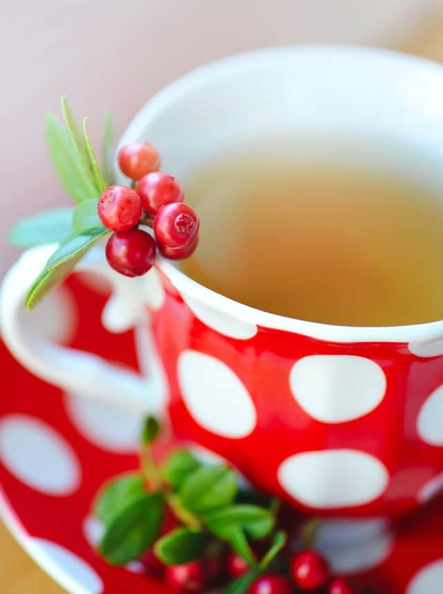 Cranberry Green Tea