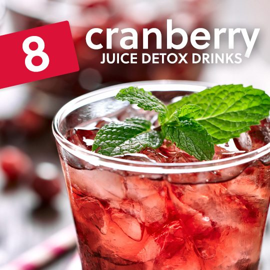 Drink these cranberry juice detox drinks to cleanse your system…