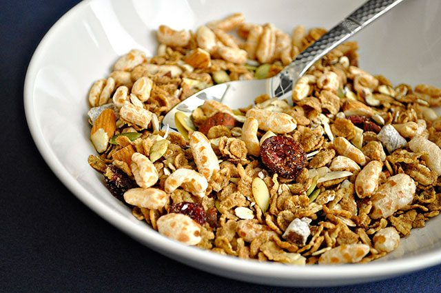 diy fiber cereal