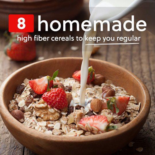 8 Homemade High-Fiber Cereals