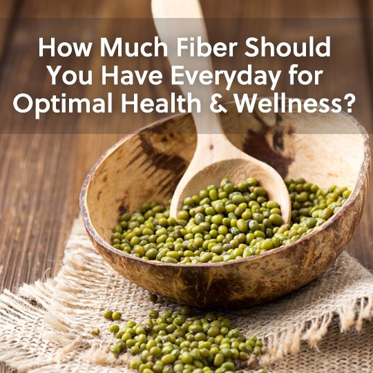 See how much fiber you should have everyday for optimal health and wellness…