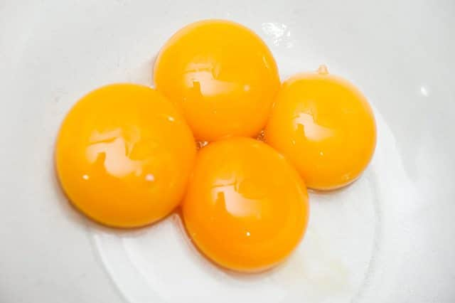 how to make stalted egg yolk