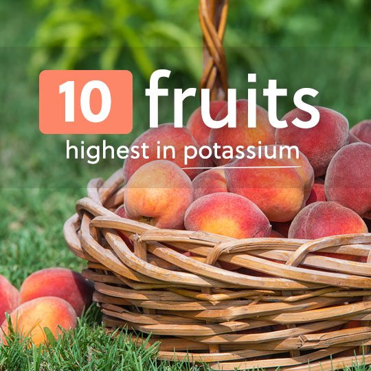 There are many more high potassium fruits other than bananas to get your daily intake of potassium…