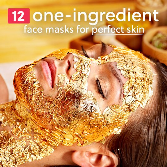 Use these simple homemade face masks with only 1 ingredient for perfect, toned, clear skin…