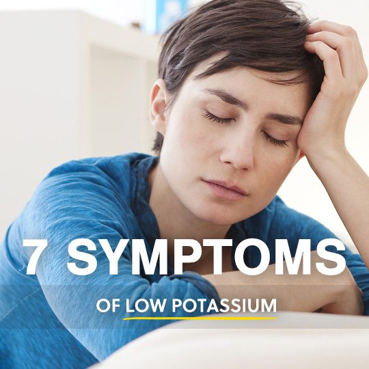 7 symptoms of low potassium (listen to your body), Skeleton