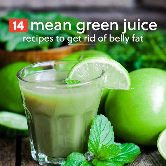 I love these green mean juice recipes! I have been drinking this for the last 5 months and have never felt better. It's great for detoxing, rich in vitamins and antioxidants, and will help you get rid of your belly fat.